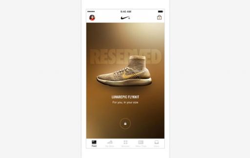Nike+ schoenen reserveren