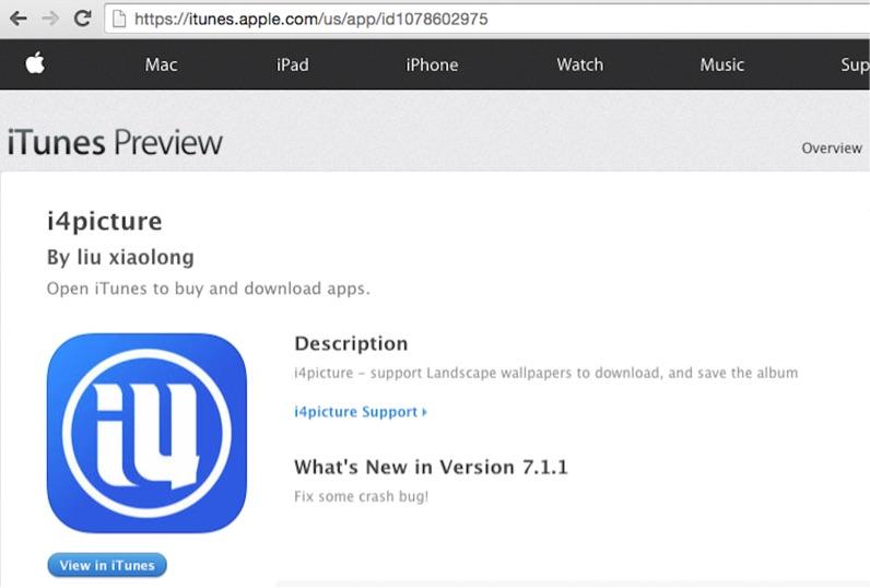 i4picture-app voor malware.