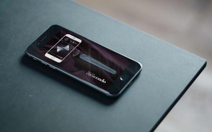 Crescendo-app voor de speciale vibrator.