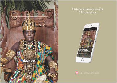 Apple Nieuws reclamecampagne