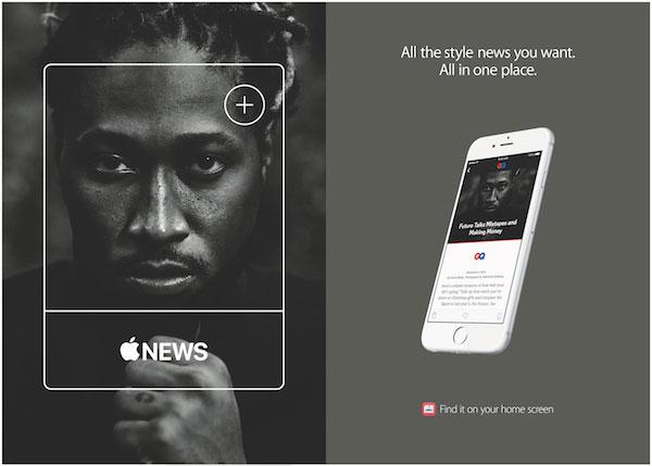 Apple Nieuws reclamecampagne GQ