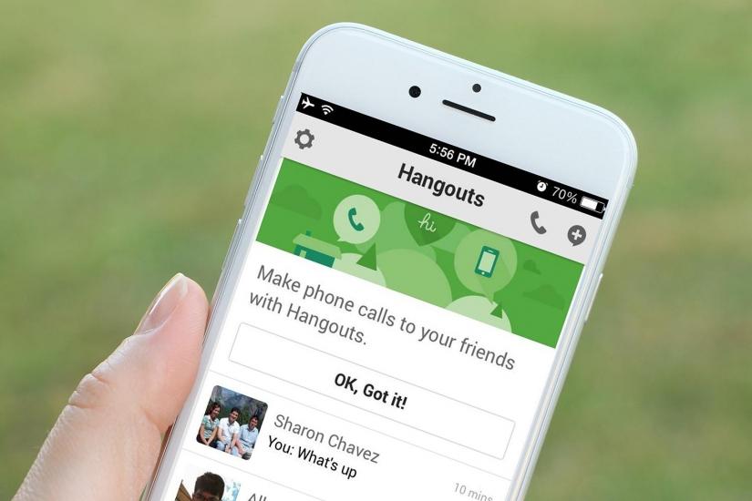 iOS Hangouts