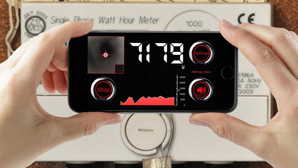 LED Stroom Meter-app