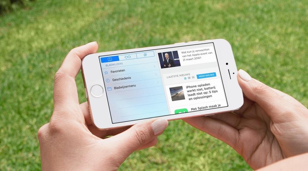 Cookies verwijderen op iPhone en iPad