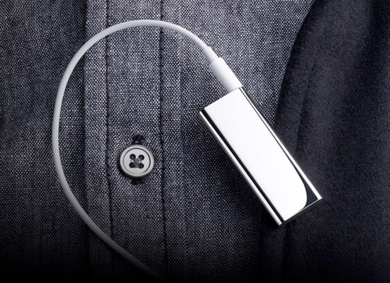 Apple iPod shuffle Special Edition in gebruik