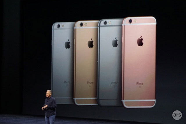 iPhone SE-kleuren