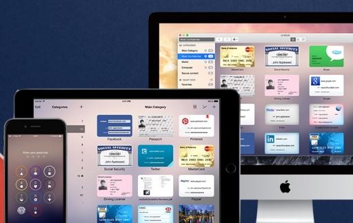 OneSafe voor de iPhone, iPad en Mac.