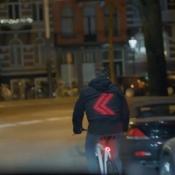 Smart Jacket moet zorgen voor veiliger fietsverkeer.