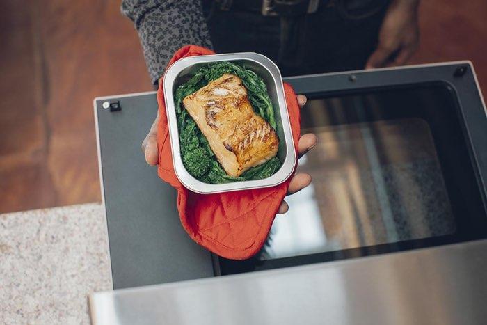 Tovala: maaltijd met gegrilde zalm