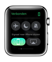 Zoek naar je iPhone met je Apple Watch.