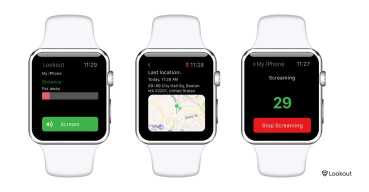 Lookout wil voorkomen dat je je iPhone verliest.