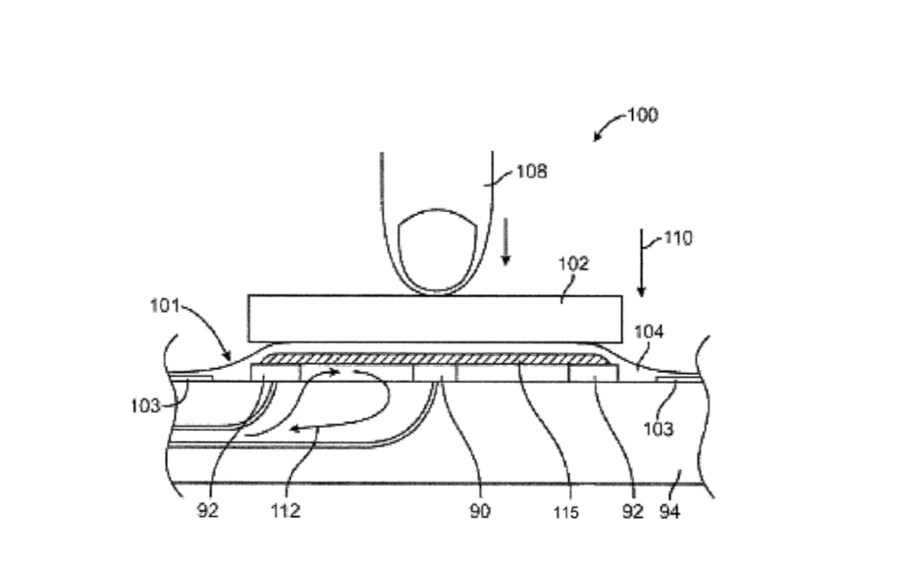 Liquidmetal patent met sterkere iPhone-knoppen.