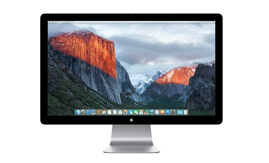 Thunderbolt Display van Apple. Is er een nieuwe onderweg?