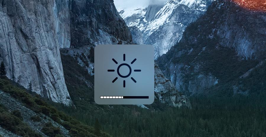 Zo verhoog je de helderheid van je Mac in kleinere stappen.