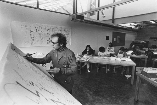 Robert Palladino kalligrafielessen