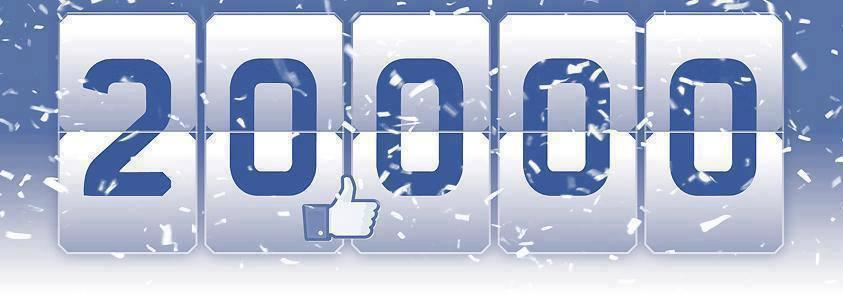 20.000 Facebook-fans