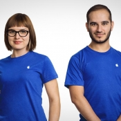 Apple Support via Twitter met medewerkers.