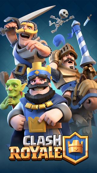 Clash Royale is nu beschikbaar op de iPhone en iPad.