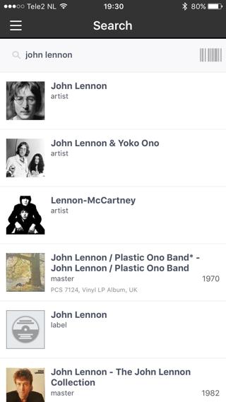 Discogs heeft een enorme hoeveelheid muziekgegevens.