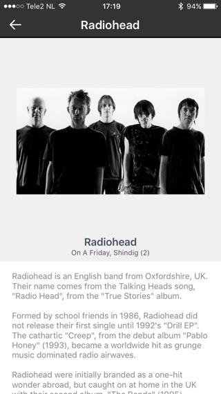 Ook artiesten zijn ruim vertegenwoordigd in Discogs.