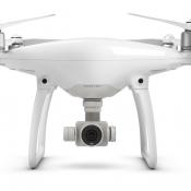 DJI Phantom 4: vooraanzicht van de drone