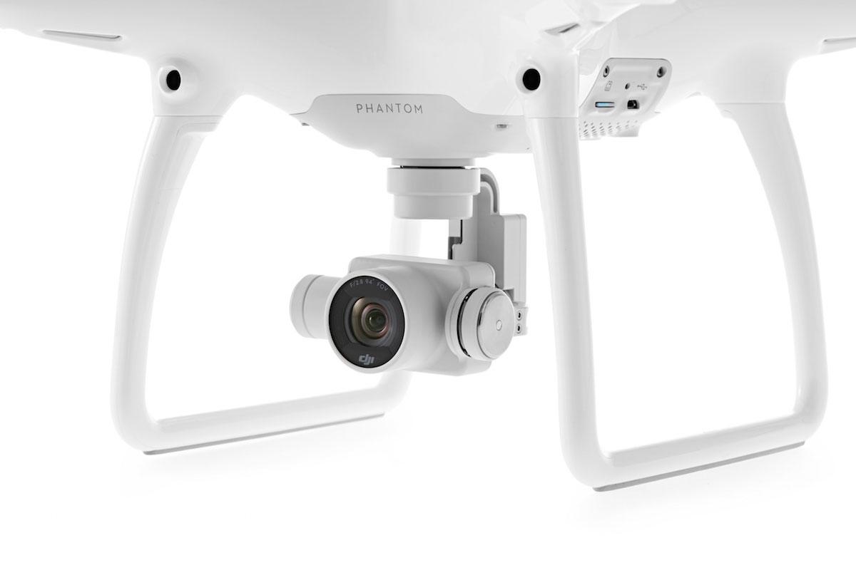 DJI Phantom 4: de camera onder de drone