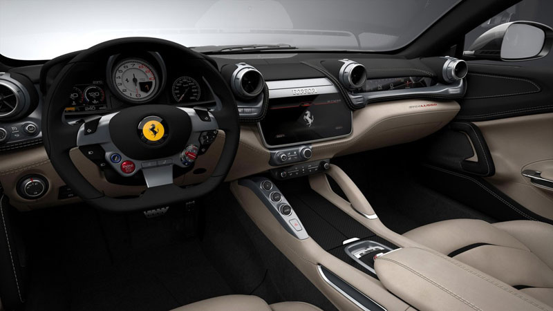Ferrari GTC4Lusso interieur