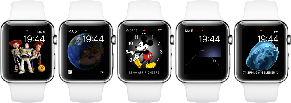 Apple Watch wijzerplaat wisselen
