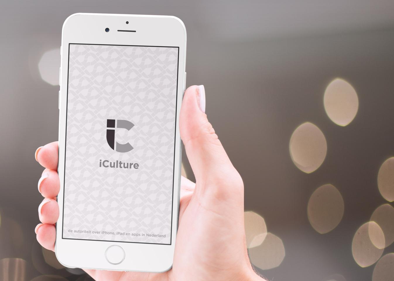 iCulture-app: bootscreen