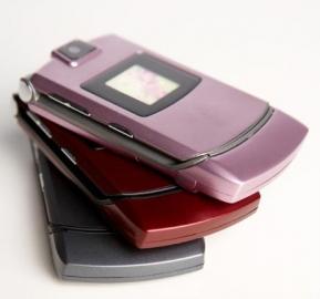 Motorola RAZR roze