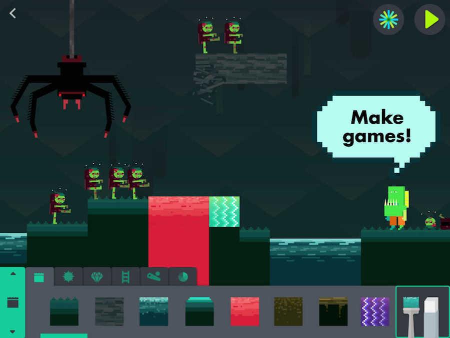 De Eindeloze Arcade van Tinybop