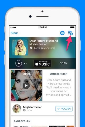 Shazam Apple Music API