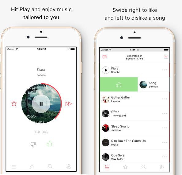 MusicSense app