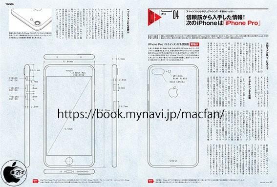 iPhone 7 Pro schematische tekeningen