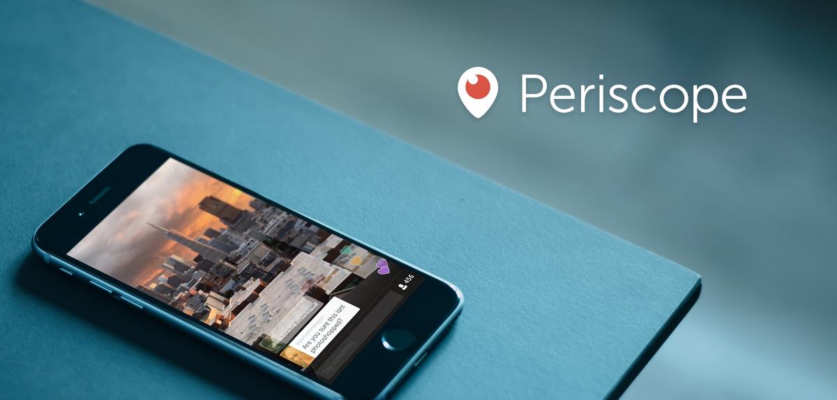 Periscope op iOS