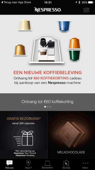 Nespresso: alweer alleen maar reclame