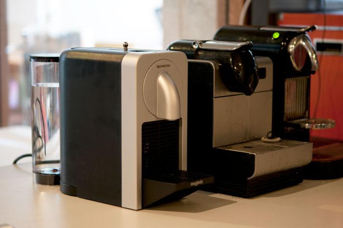 Prodigio Nespresso-automaten