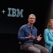 Apple haalt steeds meer IBM-technologie in huis
