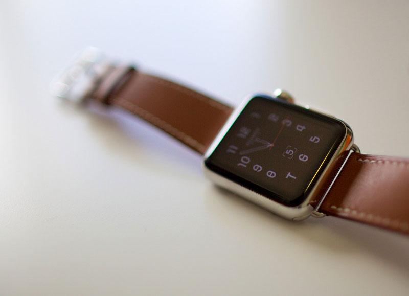 Apple Watch met Hermes bandje
