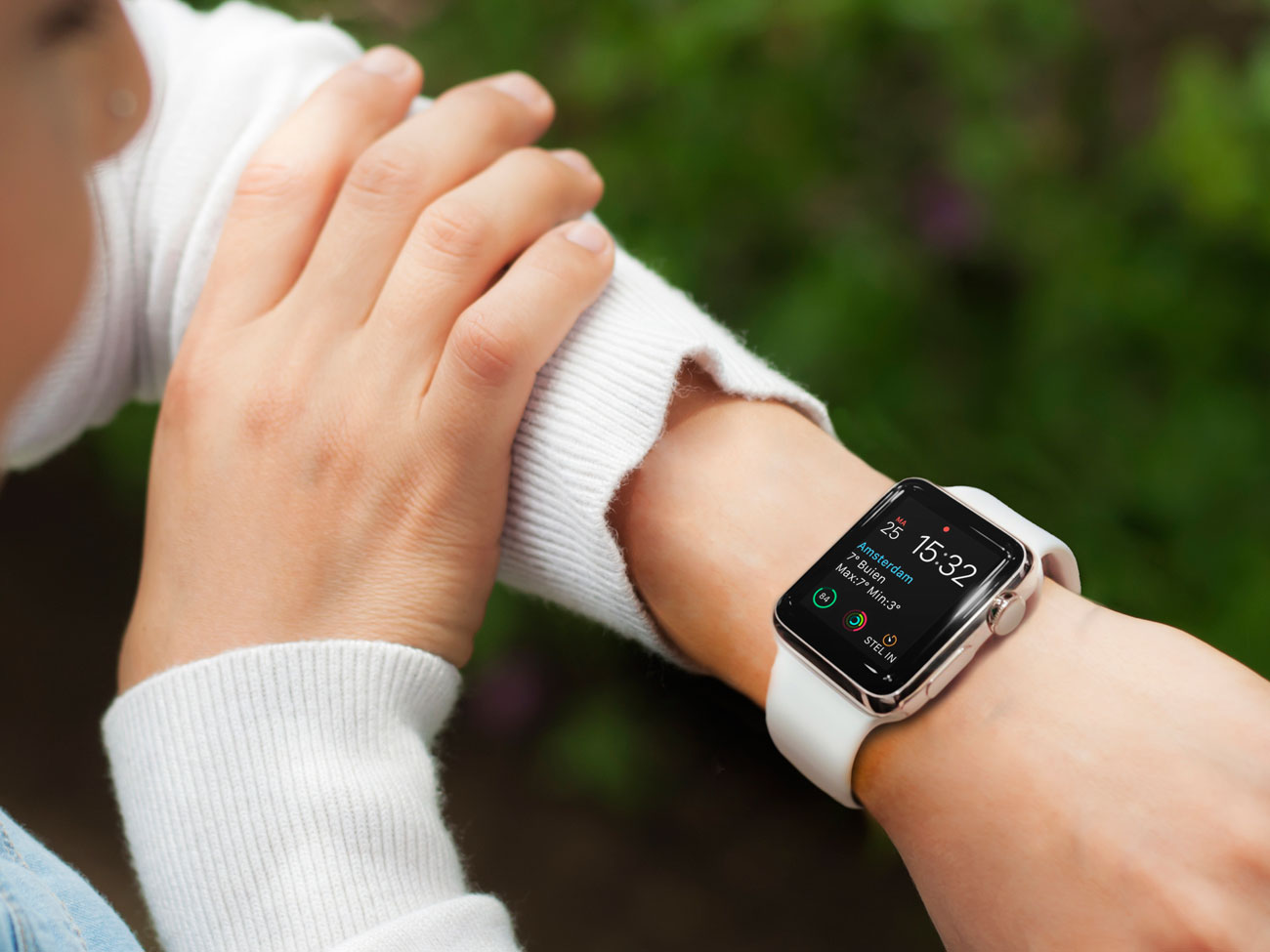 Apple Watch-wijzerplaat van Gonny