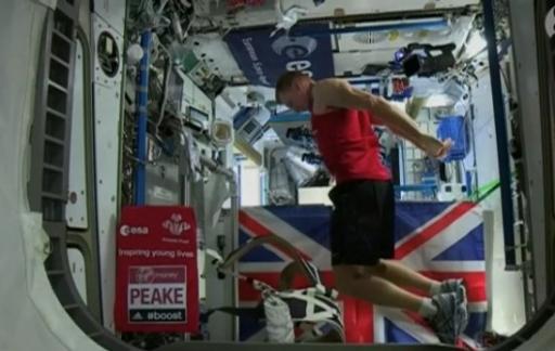 Tim Peake marathon Londen