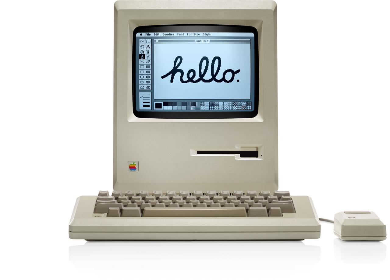 Macintosh 128k uit 1984