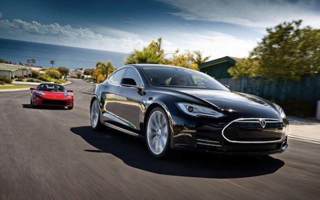 Tesla model 2014