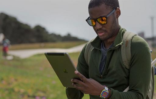 Ecologie onderzoeken met iPad