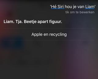 Siri en Liam over Earth Day