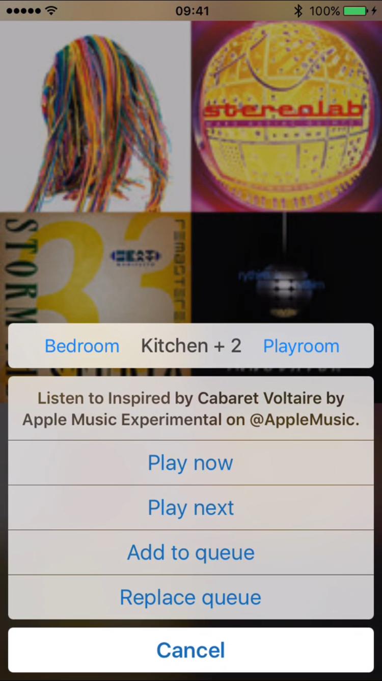 ZonePlay laat je Apple Music-afspeellijsten afspelen via je Sonos.