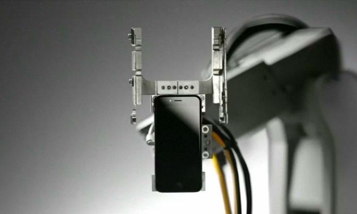 Liam, robot voor recycling van iPhones