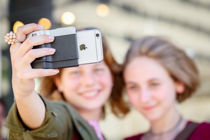 Pictar camera hoes voor de iPhone.