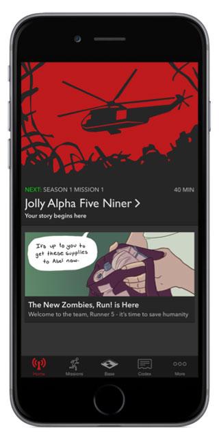 Zombies Run: Jolly Alpha