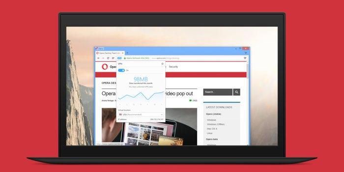 Opera VPN-dienst